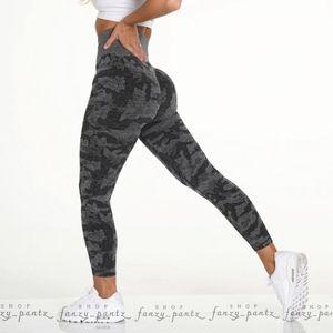 NVGTN Black Camo Seamless Legging NWT XS